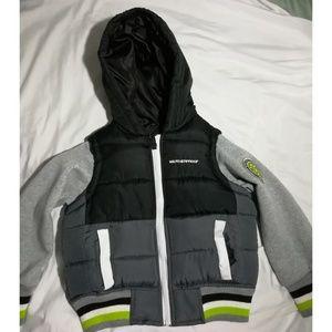 Boys Lightweight Hooded Puffer Jacket